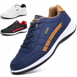 Men#x27;s Athletic Shoes Outdoor Running Fashion Casual Walking Tennis Gym Sneakers $23.88