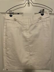 Womens White Skirt Maurices Size 7 8 $8.90