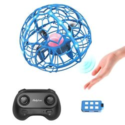 Mini Drone Hand Operated Remote Control UFO Levitation LED RC Flying Toys Kids $23.95