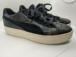Puma Classic Extreme Animal Black Women#x27;s Sneakers Shoes Size 8.5 $5.99