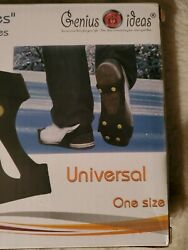 Genius IdeasI Ice Shoe Spikes One Size New In Package $12.00