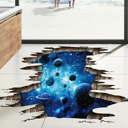 3D Galaxy Planet Removable Mural Decals Wall Sticker Vinyl Art Home Decor US $9.99