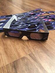 Lot Of 18 3D Paper Glasses HoloSpex Rocket Ships Kennedy Space Center Holiday $24.99
