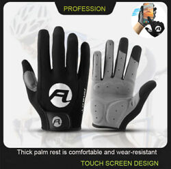 Cycling Gloves Full Finger Bicycle Gloves Anti Slip Gel Pad MTB Road Bike Gloves $8.87