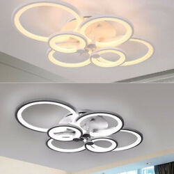 LED Ceiling Light Acrylic 6 Heads Flush Mount Ceiling Light Chandelier Fixture $89.00