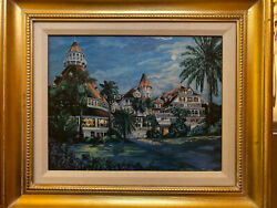 Framed Art Print On Canvas Pencil Signed By Artist Sue Tushingham McNary $69.95