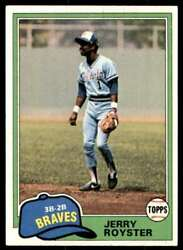 1981 Topps Jerry Royster #268 142980 $0.99