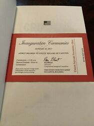 1st Ed. President Donald Trump Crippled America How Make Great Again Red Ticket $60.00