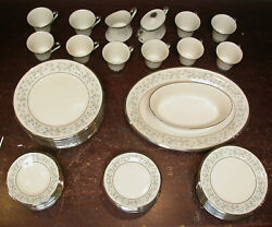 $2000 62 PIECE SET for 12 OF WINDSONG CHINA BY LENOX EXCELLENT CONDITION $299.99