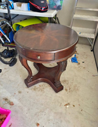 Wooden table $35.00