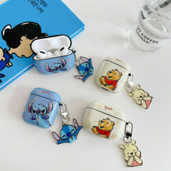 Cute Cartoon Ornaments Earphones Case Cover For Apple AirPods Pro 1amp;2 Generation $10.79