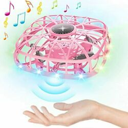 Hand Operated Drones Kids Adults Mini UFO Flying Ball Toys With Music 3D Flips $34.34