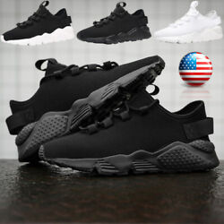 Men#x27;s Casual Sneakers Outdoor Sports Running Shoes Athletic Walking Tennis Gym $21.99