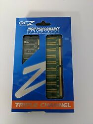 OCZ HIGH PERFORMANCE DDR 3 MEMORY TRIPLE CHANNEL $13.99