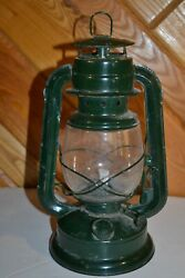 Forest Green Metal RUSTIC DECOR Train Oil Lantern Lamp for Decoration $16.99