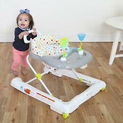 First Steps Baby Walker Activity Push Along Bouncer Baby Trend Ride With Legs $58.40