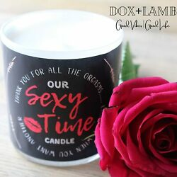 DOXLAMB Sexy Time Candle for Bedroom Funny Romantic Candle Lg. 3 Wick Candles $29.99
