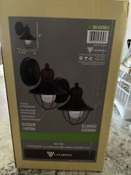 Farmhouse Exterior Lights. Set Of 2 New In Box