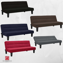 SLEEPER SOFA BED FUTON Convertible Couch Lounger Modern Living Room Loveseat NEW $156.95