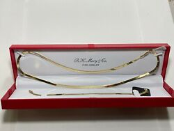 Macy#x27;s Brand Necklace Set $300 Sterling Silver New Overstock With Gift Box $45.00