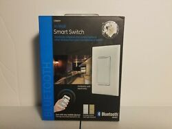 GE In Wall On Off Paddle Bluetooth Timer Smart Switch Almond White 13869 $24.99