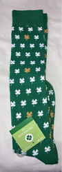 NWT Novelty Knee High Socks St Patrick's Day Shoe Size 4 10 $10.00