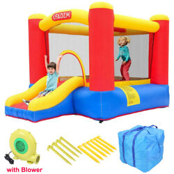 High Quality Inflatable Bounce House Slide Kids Jumper Castle 350W Blower Bag $181.59