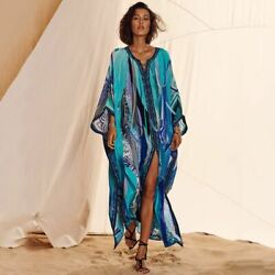 Quick Drying Bohemian Beach Dress Bikini Cover Ups Sexy Robe Kaftan Beach Wear $39.99