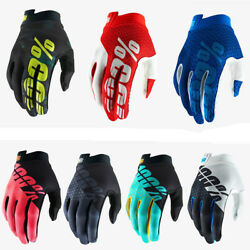 New Cycling Motorcycle Riding Racing Motoroad Fox Bicycle 100% Mountain Gloves $15.99
