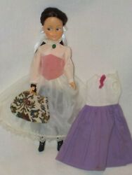 Vintage 12quot; Vinyl Mary Poppins Doll W Bag amp; Extra Dress $22.99