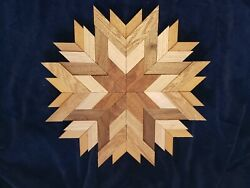 Barn Wood Quilt Wall Hanging in Farmhouse Decor $30.00