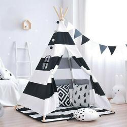 KIDS PLAYHOUSE TENT INDOOR OUTDOOR PLAY FUNNING 1.30M HIGH FOR CHILDREN GIFT $29.99