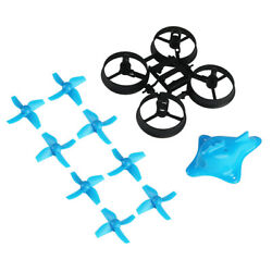 66mm Micro Whoop Frame Kit 4 Blade Propellers Shark Canopy for Tiny Whoop Drone $12.34