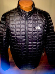NWT The North Face Men#x27;s Thermoball Eco Jacket TNF BLACK LARGE $199 FREE SHIP $119.99