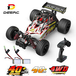 DEERC 9305E RC Cars 1:18 4WD Off Road Monster Truck 2.4GHz High Speed For Kids $67.95
