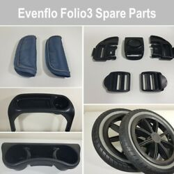 Evenflo Folio3 Baby Stroller Replacement Repair Used Parts Free Shipping $11.25