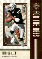 2020 Panini Legacy For the Ages #18 Marcus Allen $2.00
