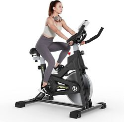 Commercial Indoor Pro Fitness Cycling Bike Belt Drive Stationary Exercise Bike