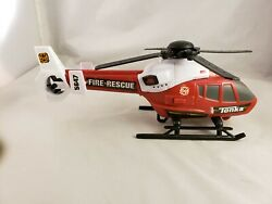 TONKA HELICOPTER FIRE RESCUE 5647 WITH WORKING LIGHTS AND SOUND $9.00