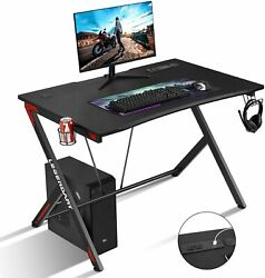 45quot;Gaming Desk Computer Table PC Laptop Ergonomic Racing Style Gamer Workstation $79.99