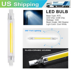12W R7S LED Flood Light Bulb Replacement 118mm Dimmable Halogen Tube Lamps NEW $8.48