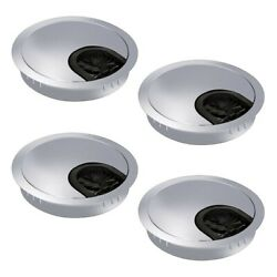 4pcs 60mm PC Computer Desk Plastic Grommet Table Cable Tidy Wire Hole Cover New C $22.02