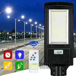 990000LM 150W Commercial Solar Street Light Outdoor IP67 Dusk Dawn Road Lighting
