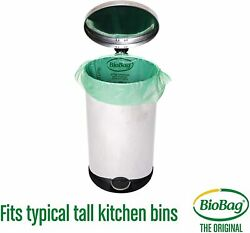 •BioBag Compostable Tall 13 Gallon Food Waste Bags 48ct Invironmentally Friendly $12.95