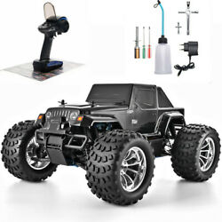 Off Road RC Monster Truck 4WD 1:10 Scale Nitro Gas Remote Control Car High Speed $399.99