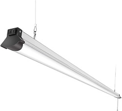Faithsail 8 Foot Led Fixtures For Garage Warehouse Plug In With Power Cord Pu