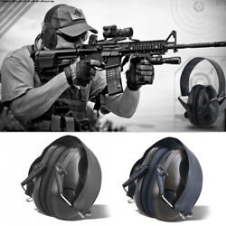 Denoise Ear Muffs Protection Hearing Ear Shooting Gun Range Safety Headphones $30.39