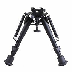 6quot; 9quot; Adjustable Spring Return Tactical Hunting Rifle Bipod Sling Swivel Mount $18.99
