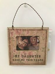 PRIMITIVES BY KATHY MINI FRAME My Daughter Gave Me This Frame 2quot;x3quot; inset NEW $10.09