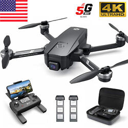 Holy Stone HS720E 4K EIS Drone with UHD Camera 5GHz FPV GPS Quadcopter Brushless $299.99